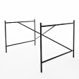 Richard Lampert: Categories - Furniture - Eiermann 1 Table Frame 110x66x78