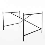 Richard Lampert: Brands - Richard Lampert - Eiermann 1 Table Frame 110x66x78