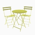 Fermob: Design Special - Fermob Sets - Bistro M&eacute;tal - Ensemble de jardin