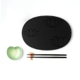 Alessi: Categories - Accessories - Lily Pond Sushi Set