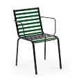 Magis: Rubriques - Mobilier - Striped - Chaise avec Accoudoirs