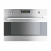 Smeg: Categories - High-Tech - S45MCX2 Inset Microwave Oven