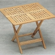 Skagerak: Design Special - Meubles de jardin en teak - Nautic - Table Pliante