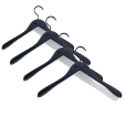 HAY: Categories - Accessories - Soft Coat Hanger Set 4 pieces