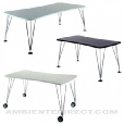 Kartell: Categories - Furniture - Max Table 190 with table base