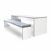 Conmoto: Categories - Furniture - Riva Set 220 - Table + 1 Bench