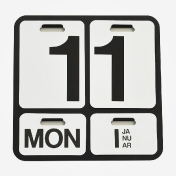 Danese: Categories - Accessories - Formosa Wall Calendar
