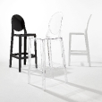 Kartell: Categories - Furniture - One More Please 75 Bar Stool