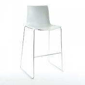 Arper: Rubriques - Mobilier - Catifa 46 0474 Bar Stool low with high Back