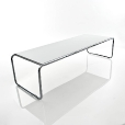 Knoll International: Marques - Knoll International - Laccio - Table de Salon Rectangulaire