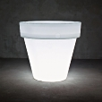 Serralunga: Rubriques - Accessoires - Vas Two - Luminaire / Pot de Fleurs L