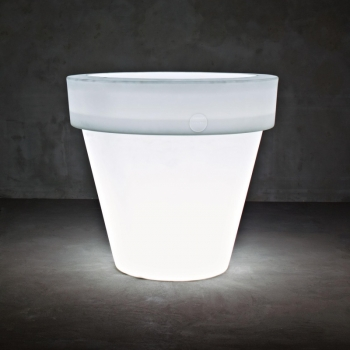 Vas Two Lamp / Plant Pot L