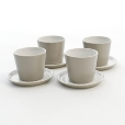 Alessi: Design Special - Made in Italy - Tonale Set Becher und Unterteller