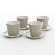 Alessi: Design special - Made in Italy - Tonale Set Beakers and Saucers