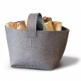 Hey-Sign: Categories - Accessories - Hey-Sign Felt Fire Wood Basket 