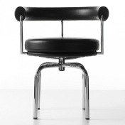 Cassina: Brands - Cassina - LC7 Swivel Armchair