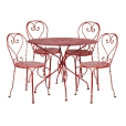 Fermob: Brands - Fermob - 1900 Garden Set 4 Chairs