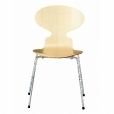 Fritz Hansen: Brands - Fritz Hansen - Ant Chair Wood Natural Veener 46,5cm