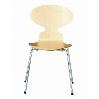 Ant Chair Wood Natural Veener 46,5cm