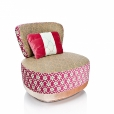 Moroso: Design Special - Made in Italy - Juju - Sill&oacute;n