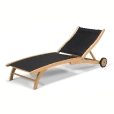 Skagerak: Categories - Furniture - Columbus Sunlounger