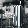 Stelton: Categories - Accessories - Cylinda Line Martini Mixer with mixer spoon