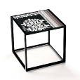 B&B Italia: Outlet - Canasta Side Table 30.5 | Display Item