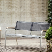 Jan Kurtz: Categories - Furniture - Lux XL Lounge Bench 2-Seater