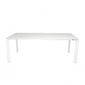 Kristalia: Categories - Furniture - Nori Pure White Dining Table Extendable