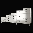 Magis: Categories - Furniture - Plus Unit 2 drawers