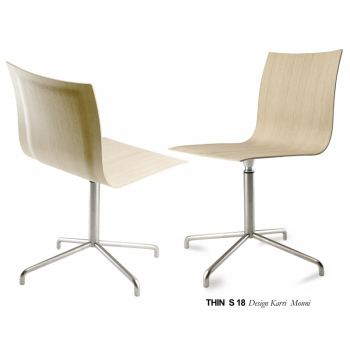 Thin S18 swivel chair