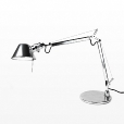 Artemide: Brands - Artemide - Tolomeo Micro Chrom Office Lamp