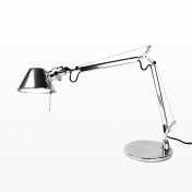 Artemide: Categories - Lighting - Tolomeo Micro Chrom Office Lamp
