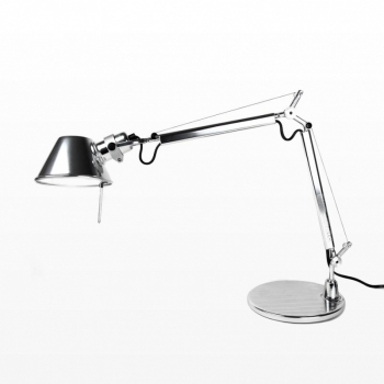Tolomeo Micro Chrom Office Lamp