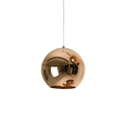 Tom Dixon: Categories - Lighting - Copper Shade Suspension Lamp