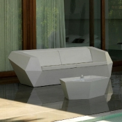 Vondom: Categories - Furniture - Faz Sofa Two Seater
