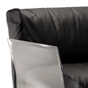 Kartell: Brands - Kartell - Pop Leather Three Seater