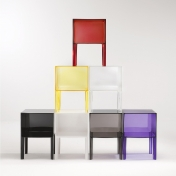 Kartell: Categories - Furniture - Small Ghost Buster Bed Table