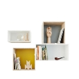 Muuto: Categories - Furniture - Mini Stacked Shelf Set
