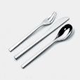 Alessi: Rubriques - Accessoires - Colombina - Service de 24 couverts