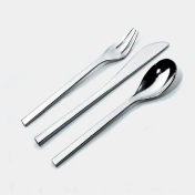 Alessi: Categories - Accessories - Colombina 24-piece Cutlery Set