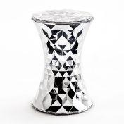 Kartell: Brands - Kartell - Stone Metallic Stool