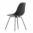 Vitra: Rubriques - Mobilier - Eames Plastic Side Chair DSX basic dark