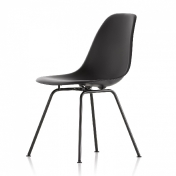 Vitra: Categories - Furniture - Eames Plastic Side Chair DSX basic dark