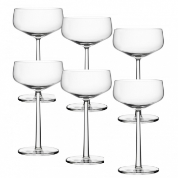 Essence - Set de copas de Cocktail