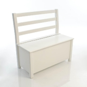 Kinderbunt: Categories - Furniture - Nils Kid's Bench with Chest bicoloured