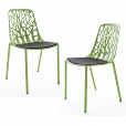 Weish&auml;upl: Design Special - Weish&auml;upl Ensembles chaises - Forest - Outdoor kit de 2 chaises