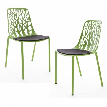 Forest - Outdoor set de 2 sillas