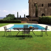 emu: Brands - emu - Athena Set 1 Outdoor Table + 4 Chairs