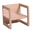 Jan Kurtz: Rubriques - Mobilier - Hugo Kid's table / Kid's armchair